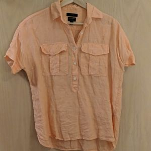J.Crew Baird McNutt Irish Linen Button Down